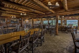 Weekend romantic cabin getaways in Idaho would not be complete without eating at one of our on-site restaurants.
