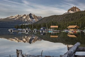 Enjoying the Marina at Redfish Lake Lodge is just one of the most romantic things to do in Idaho.