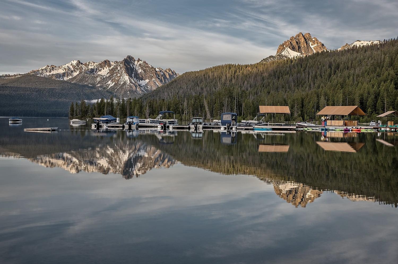 Redfish Lake Marina | Idaho Marina | Redfish Lake Lodge