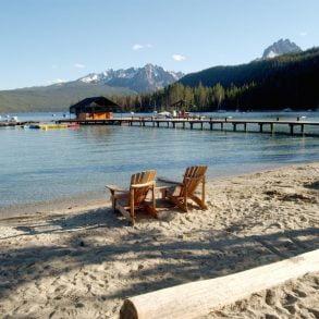 best beaches in Idaho