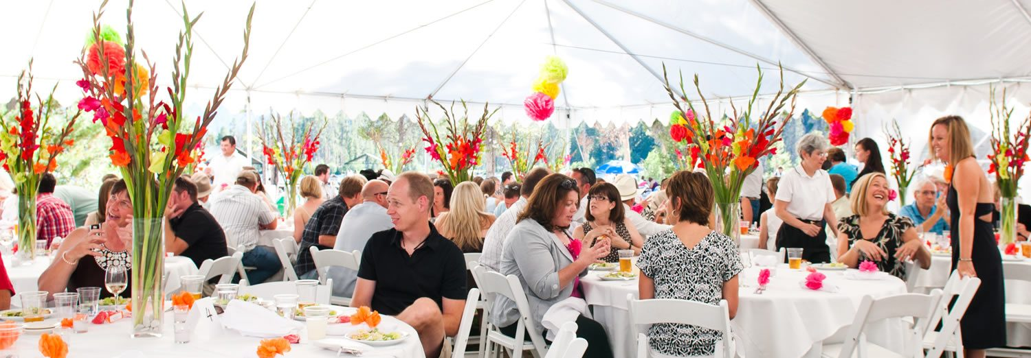 Idaho Outdoor Large Parties Catered Events