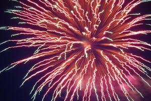Firework Over Stanley