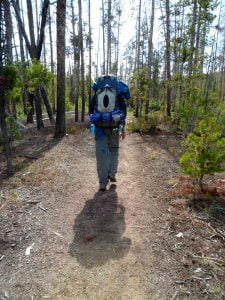 Backpacker Hiking
