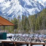 bikes on dock