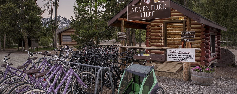 adventure hut