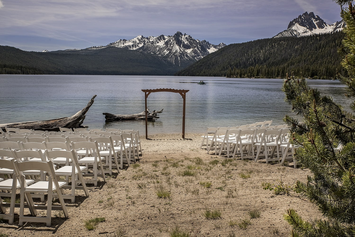 Mountain Lake Lodge Wedding | Wedding Gallery Redfish Lake Lodge