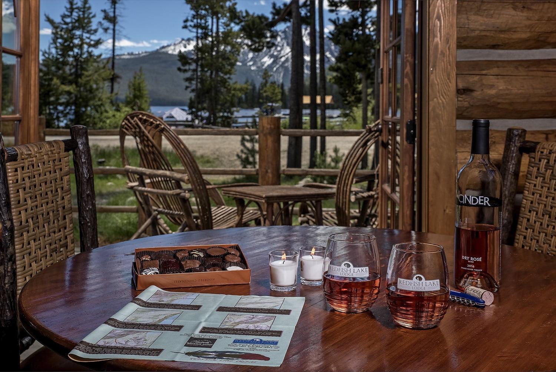 Honeymoon Cabin Redfish Lake Lodge