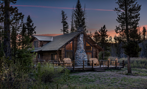Lake Cabin exterior