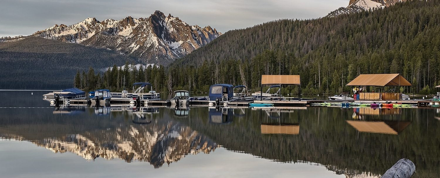 redfish lake boat rental