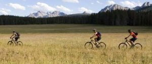 bike trails in Stanley, Idaho