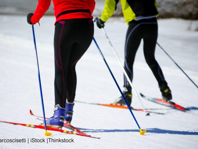people skiing in Idaho