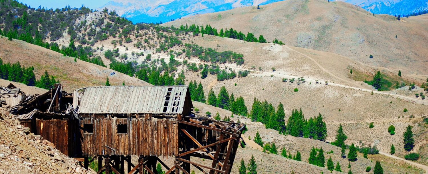 ghost towns near Stanley, Idaho