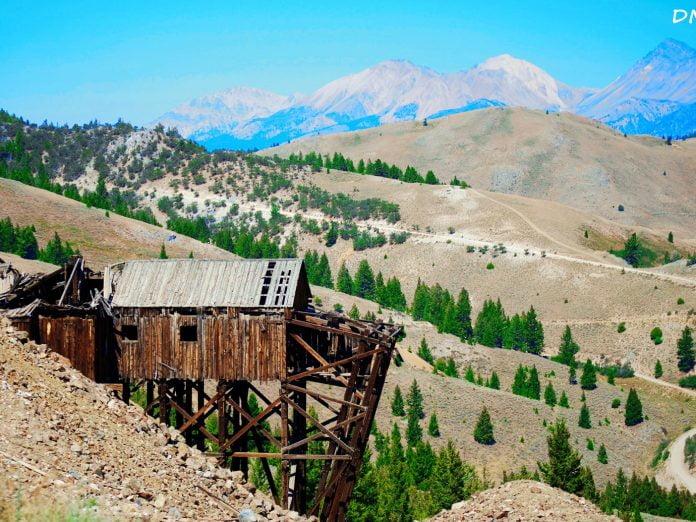 ghost towns near Stanley, Idaho