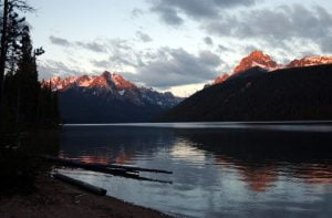 The Sawtooth Mountains are romantic getaways from Boise, Idaho!