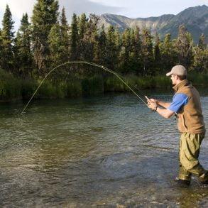 steelhead fishing on the Salmon River in Idaho
