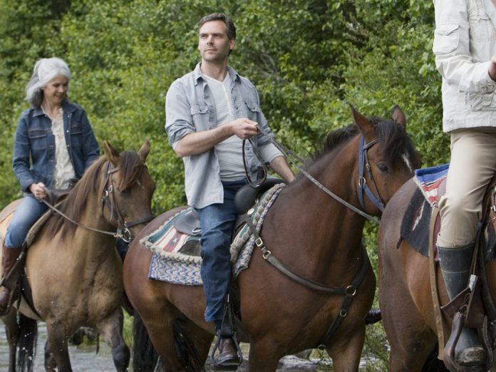 horseback riding in Stanley, Idaho