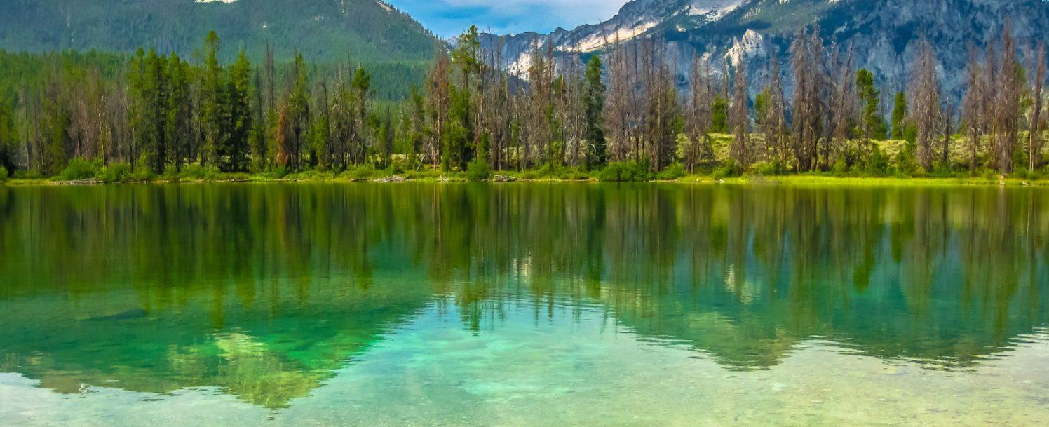 Alice Lake in Idaho