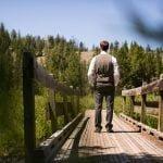 Redfish Lake Lodge bridge
