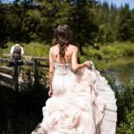 Redfish Lake Lodge wedding