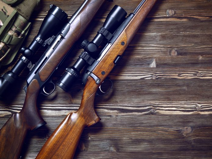 Hunting rifle and ammunition; best elk hunting in idaho.