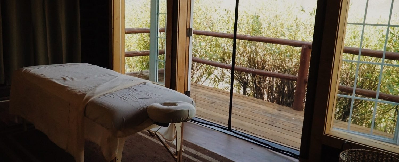 the spa at Redfish Riverside Inn