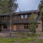 a cabin at Redfish Lake Lodge
