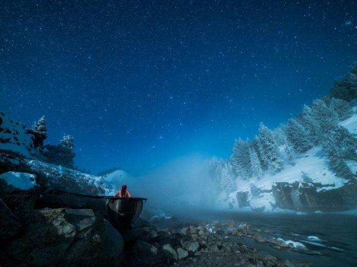 Boat Box Springs at night