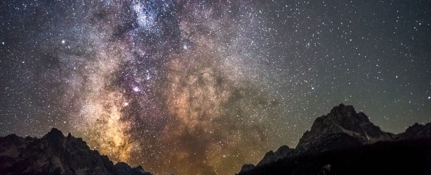 the Dark Sky Reserve in Central Idaho