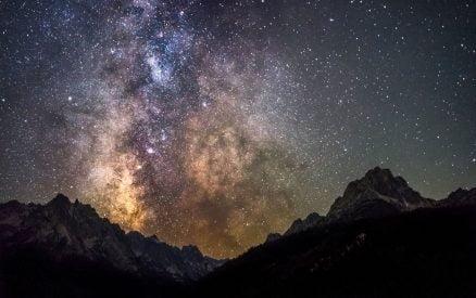 the Dark Sky Reserve in Central Idaho