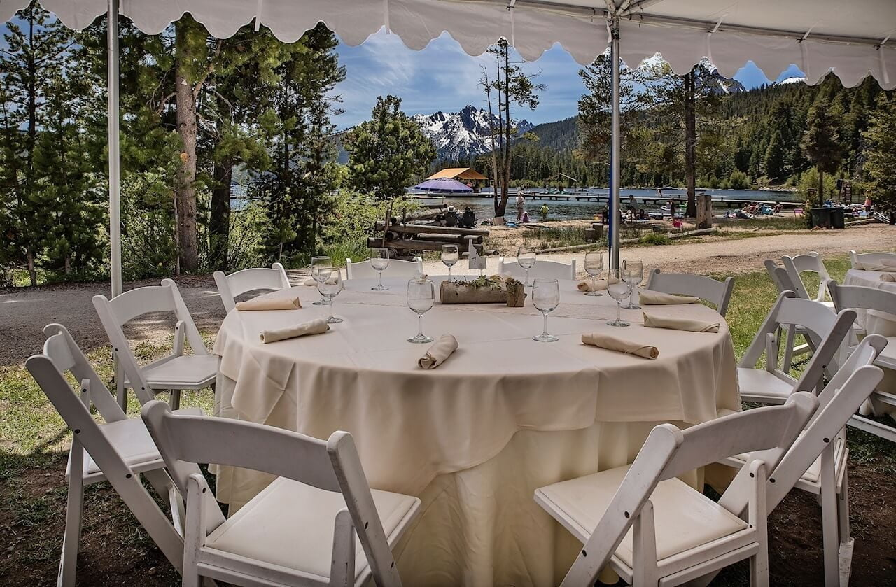 Event Tent Redfish Lake Lodge