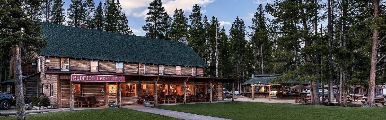 Redfish Lake Lodge Exterior
