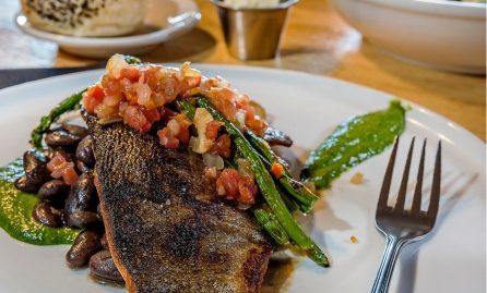 Dinner Plate at Limbert's Restaurant