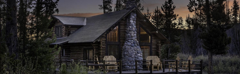 Lake Cabin at Redfish LAke Lodge