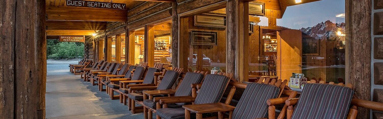 Seating Area at Redfish Lake Lodge
