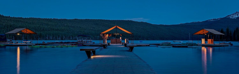 The Dock at Redfish Lake Lodge