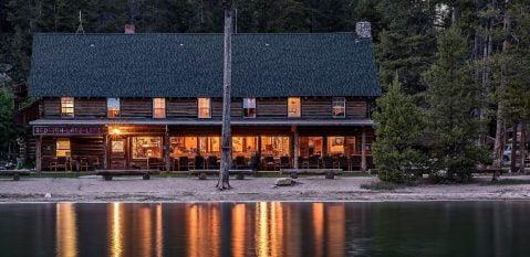 Redfish Lake Lodge main lodge